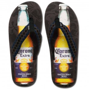 Corona Extra Bottle Sandals