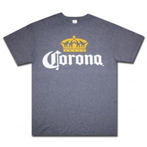 Corona Navy Logo T-Shirt