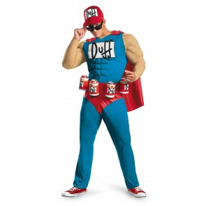 Duffman Costume : Simpsons Beer Man