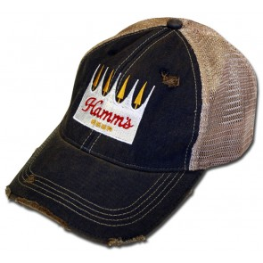 Hamm's Beer Navy Retro Mesh Hat