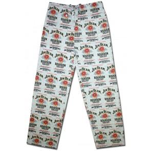 Jim Beam Label Spread Pajama Pants