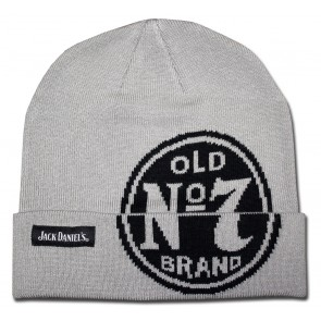 Jack Daniel's Grey Winter Beanie