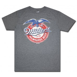 Miller Milwaukee Beer Eagle T-Shirt