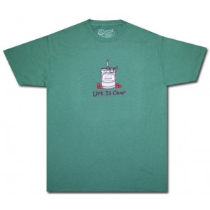 Life Is Crap T-Shirt : Empty Keg Shirt