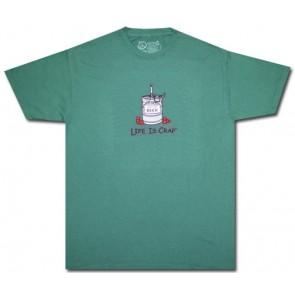 Life Is Crap T-Shirt : Empty Keg Shirt
