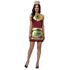 Wine Bottle Dress Women's Costume