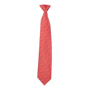 Flask Tie Red Polka Dot