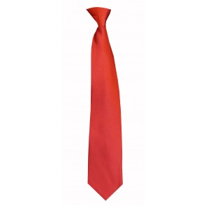 Flask Tie Solid Red