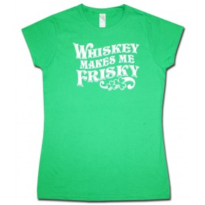 Whiskey Makes Me Friskey St. Patty's Shirt