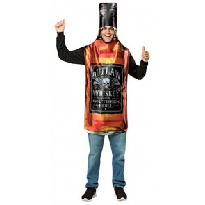 Outlaw Whiskey Bottle Costume