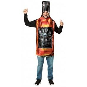 Outlaw Whiskey Bottle Costume