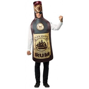 Spiced Rum Bottle Costume
