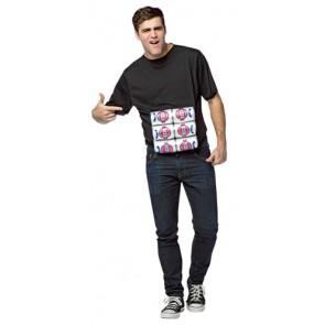 6 Pack T-Shirt Costume
