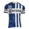 Blue Striped Corona Cycling Jersey